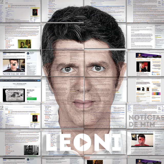 Capa do CD Notícias de Mim do Leoni